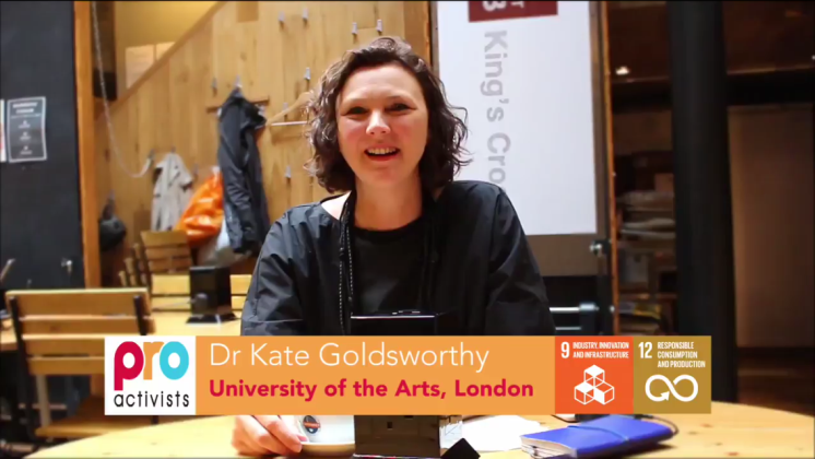Dr. Kate Goldswothy interviewed by the Pro-Activists