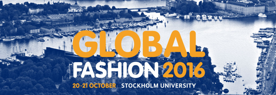 Making clothes (Materials) last longer – at Global Fashion Conference 2016 Stockholm