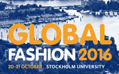 Making clothes (Materials) last longer – på Global Fashion Conference 2016 i Stockholm