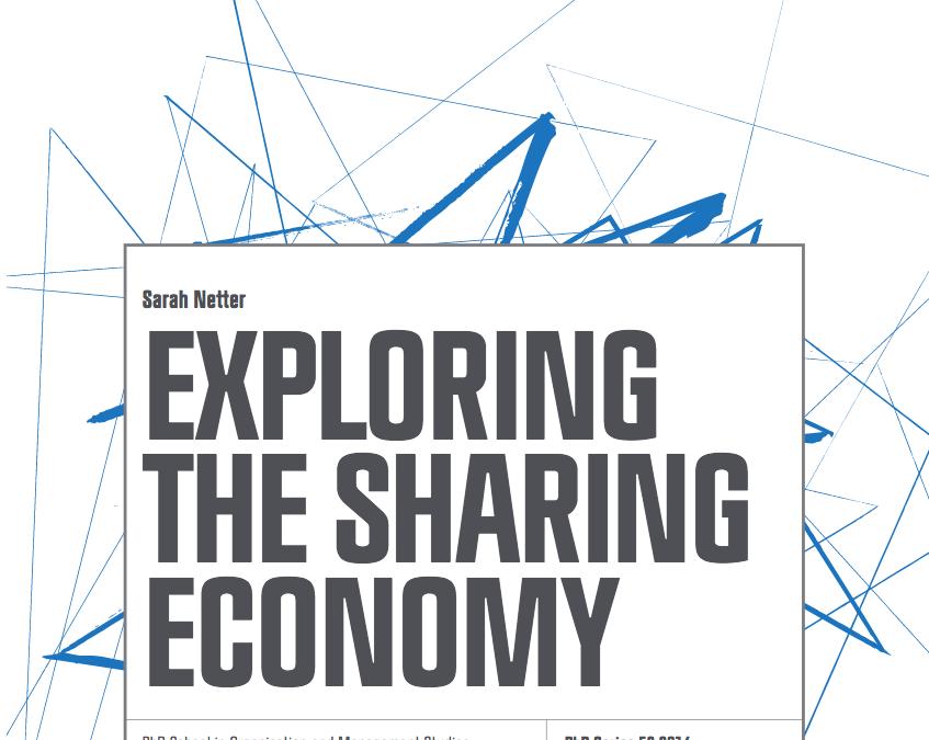 Ny doktorsavhandling om delningsekonomi