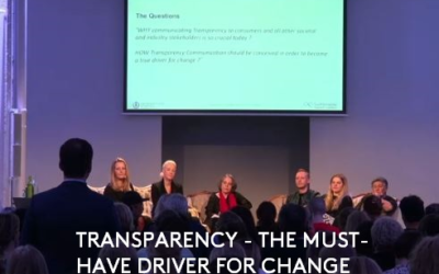 Transparency – the must-have driver for Change